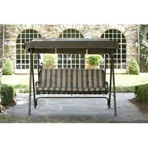 garden oasis 3 seat swing with canopy limited