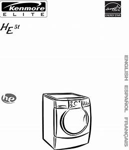 Kenmore Washer He5t User Guide