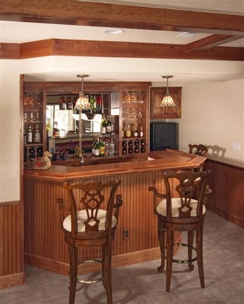 Small Bar by Small Basement Bar Home Renovation Ideas