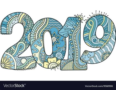 Happy New Year 2019 Clip Art