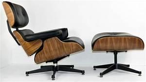 fauteuil cuir et bois design idees de decoration With fauteuil cuir bois design
