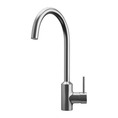 single lever kitchen faucets ringskär single lever kitchen faucet ikea