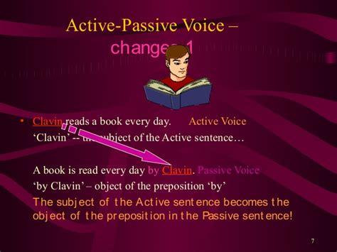 active and passive voice arman