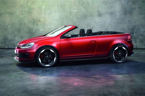 Volkswagen Gifts Golf Gti Cabriolet To Wrthersee Car Show