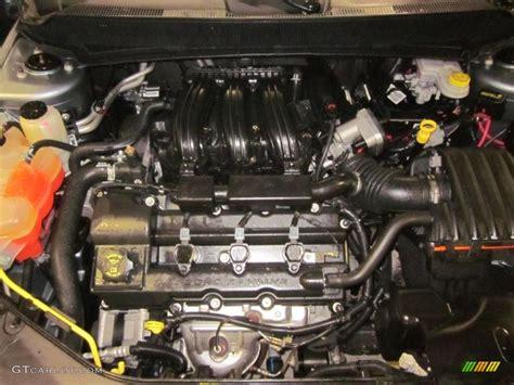 dodge avenger sxt  liter dohc  valve  engine
