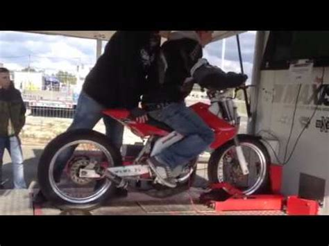 Banc D'essai Derbi Pro Race Xl Youtube