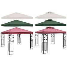 gazebo top cover patio canopy replacement  tier   tier  color