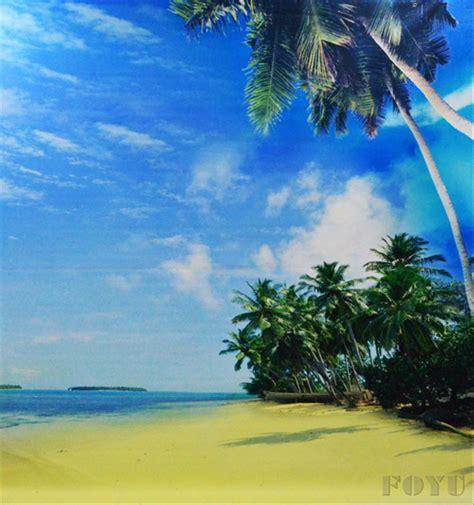jual background foto inkjet printing tepi pantai pesisir
