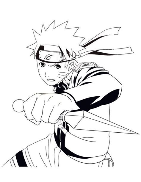 Shippuden Coloring Pages To Print by Coloring Pages Lineart Coloring Pages