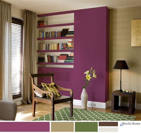 purple green living room i like this mulberry color maybe crib stuff or accent pillow for the chair in her nursery