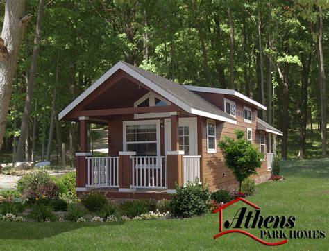 park model homes athens park homes rv business 43387
