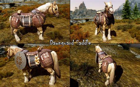convenient horses mod  elder scrolls  skyrim mods