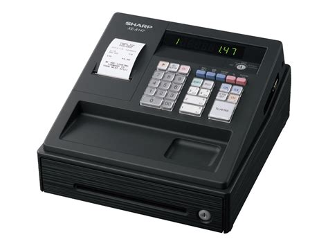 caisse de bureau sharp xe a147 bk caisse enregistreuse calculatrices