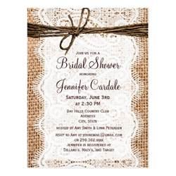 rustic wedding shower invitations bridal shower invitations rustic bridal shower invitations free
