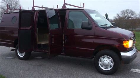 2005 Ford Econoline E350 For Sale~extended Van~roof Racks