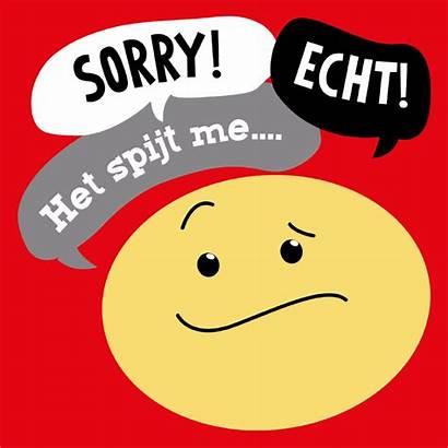 Sorry Smiley Kaart Kaarten Kaartje2go