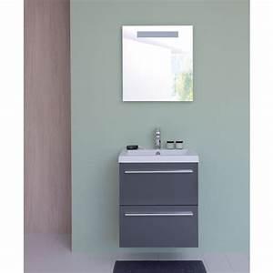 Meuble salle de bain 60 cm leroy merlin for Salle de bain design avec meuble salle de bain 60 cm castorama