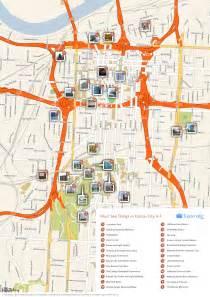 Kansas City Map Tourist Attractions