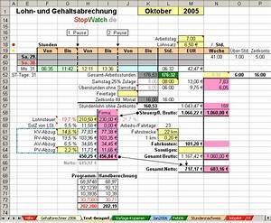 Lohn Berechnen Netto : brutto netto rechner arbeitsstunden zeiterfassung ~ Themetempest.com Abrechnung