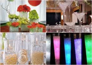 wedding centerpiece ideas water diy wedding