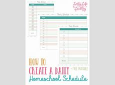 FREE Daily Planning Pages For Homeschool Moms Homeschool