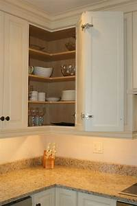 Kitchen, Corner, Cabinet, With, Clever, Storage, Systems, Inside