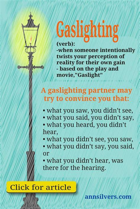 psychology   gaslighting  abusive relationships