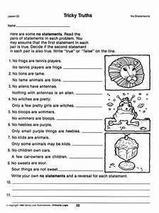 Printables  Syllogism Worksheet  Messygracebook Thousands Of Printable Activities