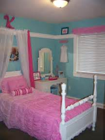 Turquoise And Pink Girl Princess Room Kennedys Room