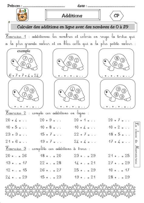 numeration  addition cp la classe de mamaicress
