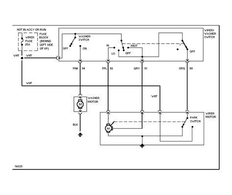 88 Chevy Wiper Motor Wiring Diagram by Wiper Motor Wiring Diagram Impremedia Net