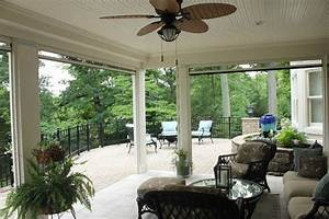 Screened Porches With Retractable Screens