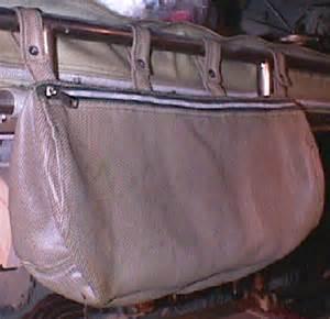 uss pampanito bunk storage bag