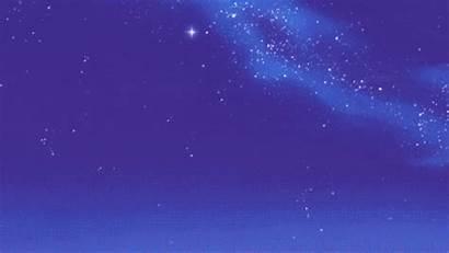 Night Sleepy Cosmos Anime Animated Space Reader