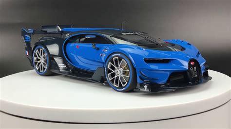 4, i know bugatti vision gran turismo race car a little and like it. AUTOart Bugatti Vision Gran Turismo - YouTube
