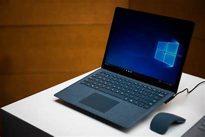 Surface Laptop Microsoft Windows Launched Running Display