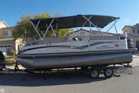 Used Tracker Boats For Sale In California by 2011 Used Sun Tracker Barge 22 Sport Fish Regency