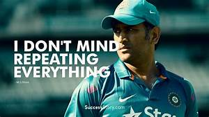 9 GIFs Of MS Dh... Dhoni Retires Quotes
