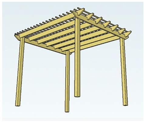 wood pergola plans