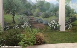 Peinture Pour Mur Extérieur : fresque murale d cor peint et trompe l 39 oeil peinture ~ Dailycaller-alerts.com Idées de Décoration