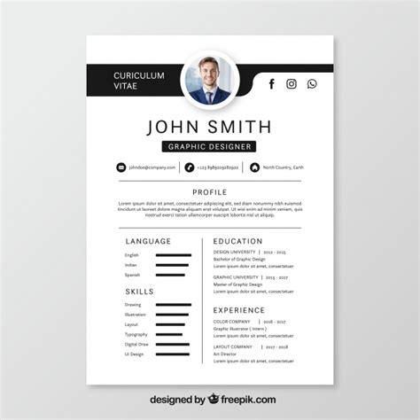 creative resume vectors   psd files