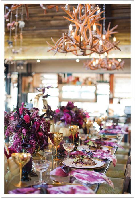 Modern Thanksgiving Decor & Gourmet Thanksgiving Menu