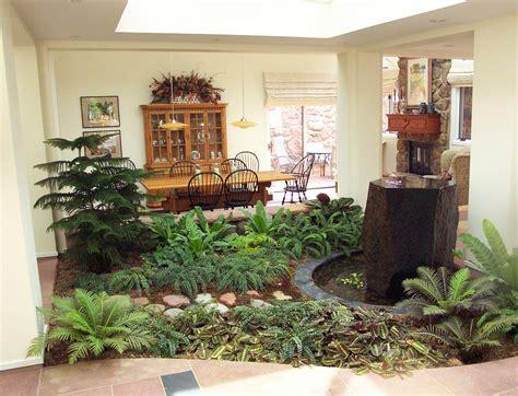 indoor atrium small garden design indoor garden