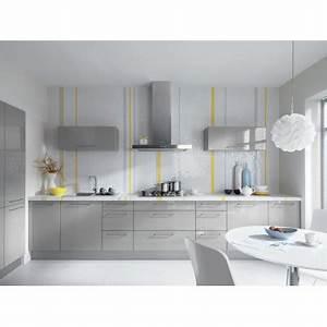 Küche 300 Cm : k che 300 cm grau glanz mdf lackiert erweiterbar ~ A.2002-acura-tl-radio.info Haus und Dekorationen
