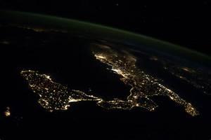 Sicily and Italy at Night | NASA