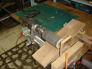 Drill + Zyliss Vise = thickness sander Zyliss Vise