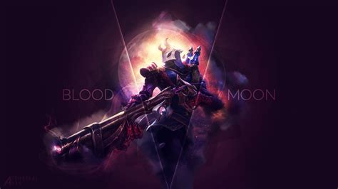 Jhin Animated Wallpaper - blood moon jhin lol wallpapers
