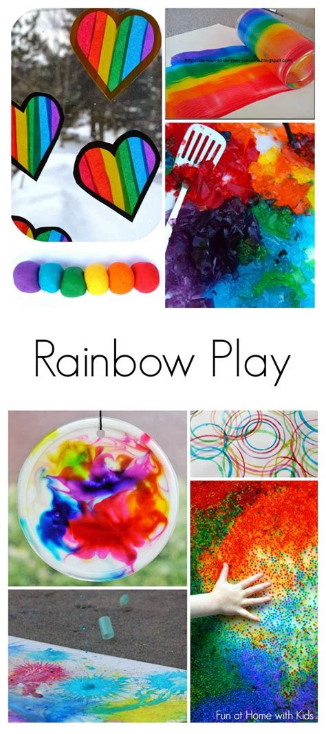 283 best images about rainbows preschool theme on 403 | e994f32a2c091d9150f97e47772ecf9e activities for babies rainbow activities