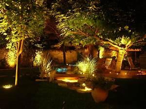 Eclairage Exterieur Jardin : clairage ext rieur la led comme solution ~ Melissatoandfro.com Idées de Décoration