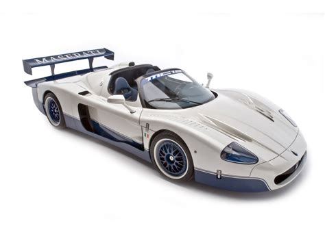 2008 Edo Competition Maserati MC12 - Front And Side ...